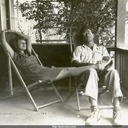 Jack and Norma on the porch at Norma